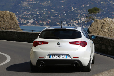 2011 Alfa Romeo Giulietta Rear View