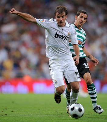 Rafael Van der Vaart Real Madrid Football Player
