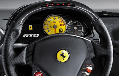2011 Ferrari 599 GTO Steering Wheel & Gauges