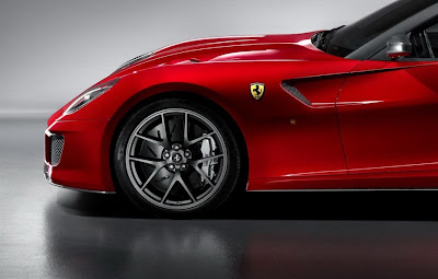 2011 Ferrari 599 GTO Left Wheel