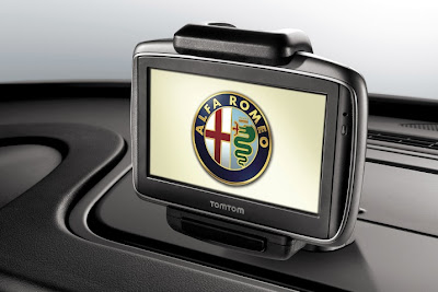 2011 Alfa Romeo Giulietta TomTom GPS