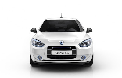 2011 Renault Fluence ZE Front View