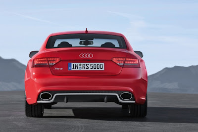 2011 Audi RS5 Rear View