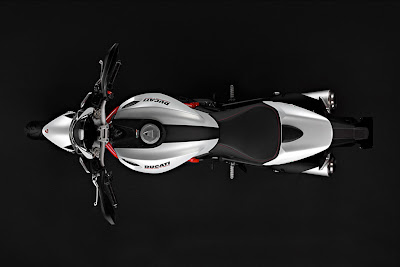 2011 Ducati Monster 796 Top View