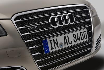 2011 Audi A8 L Grille
