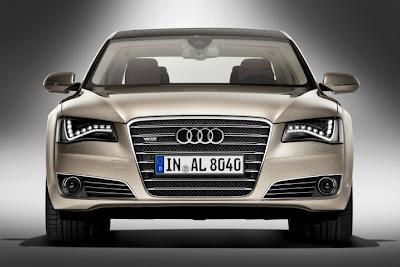 2011 Audi A8 L Front View