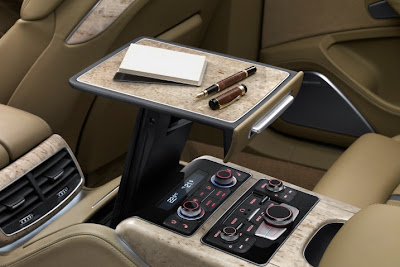 2011 Audi A8 L Pop Up Table View