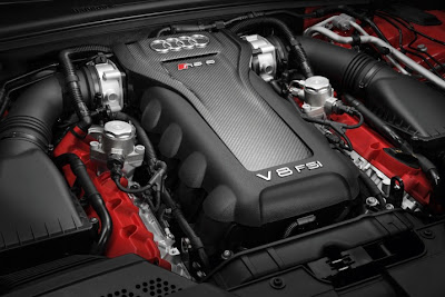 2011 Audi RS5 Car Engine