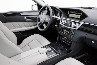 2011 Mercedes-Benz E-Class L Interior View
