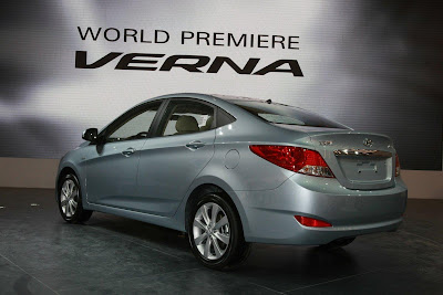 2011 Hyundai Verna-Accent Rear View