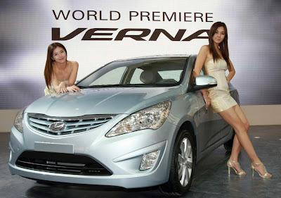 2011 Hyundai Verna-Accent Car Wallpaper
