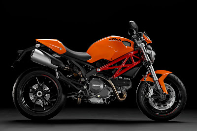 2012 Ducati Monster 796 Orange