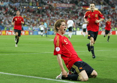 Fernando Torres World Cup 2010 Celebration