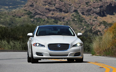 2011 Jaguar XJ L Supercharged Front View