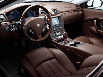 2009 Maserati GranTurismo Interior