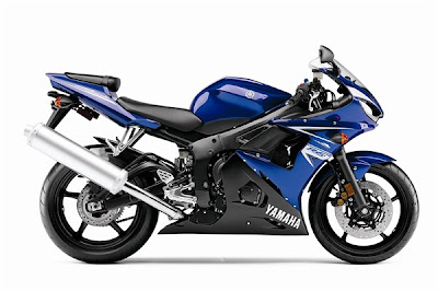 2009 Yamaha YZF-R6S Top Picture