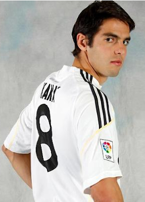 Kaka New Real Madrid Football Player