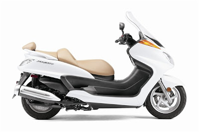 2010 Yamaha Majesty White Edition