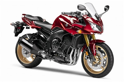 2010 Yamaha FZ1 Red Color