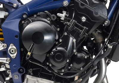 2010 Triumph Daytona 675 SE Engine