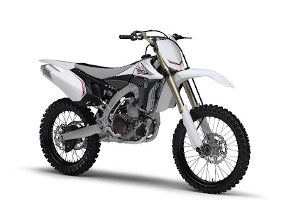 2010 Yamaha YZ450F White Series