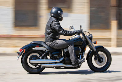 2010 Honda Shadow Phantom Test Road