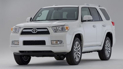 2010 Toyota 4Runner Front Angle