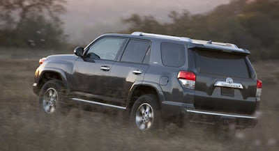 2010 Toyota 4Runner Rear Angle