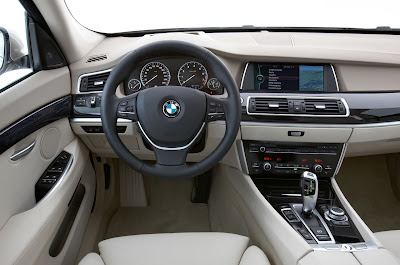 2010 BMW 5-Series Gran Turismo Interior