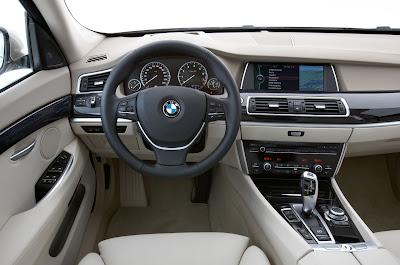 2010 BMW 5-Series Gran Turismo Interior