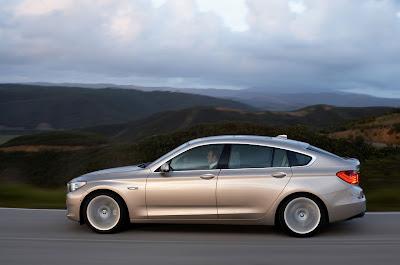 2010 BMW 5-Series Gran Turismo Side View