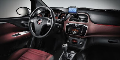 2010 Fiat Punto Evo Interior