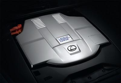 2010 Lexus LS 600h Engine