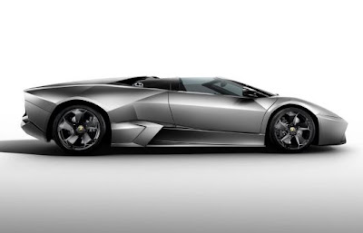 2010 Lamborghini Reventon Roadster Side View