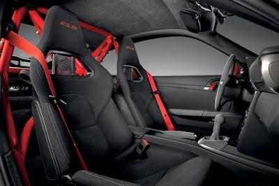 2010 Porsche 911 GT3 RS Interior