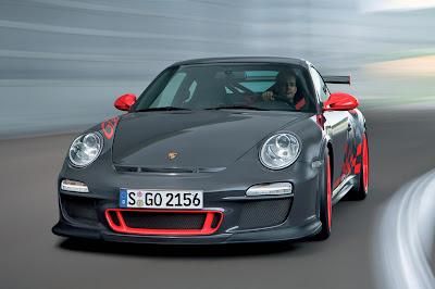 2010 Porsche 911 GT3 RS Front View