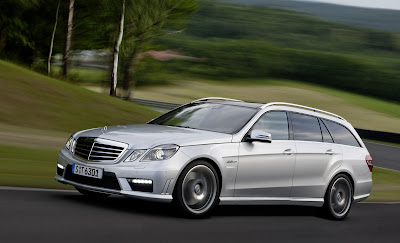 2010 Mercedes-Benz E63 AMG Estate Car Wallpaper