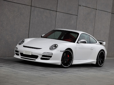 2010 TechArt Porsche 911 Carrera 4S Front Side View