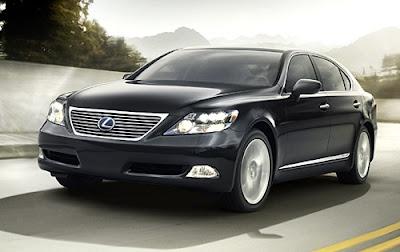 2009 Lexus LS 600h L Elegant