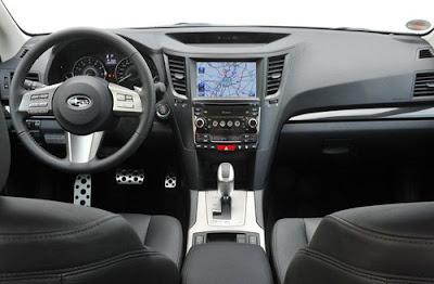 2010 Subaru Legacy Tourer Interior