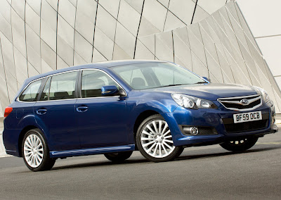 2010 Subaru Legacy Tourer Car Wallpaper