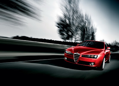 2009 Alfa Romeo Brera Top Wallpaper