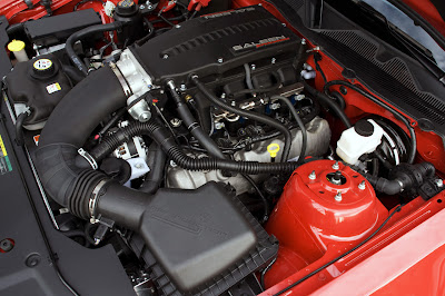 2010 Saleen 435S Mustang Engine