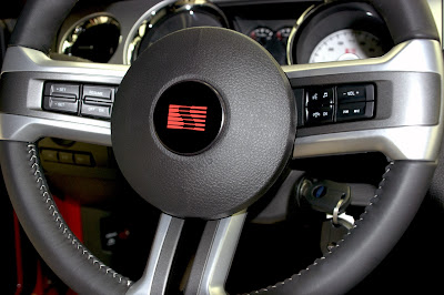 2010 Saleen 435S Mustang Steering Wheel