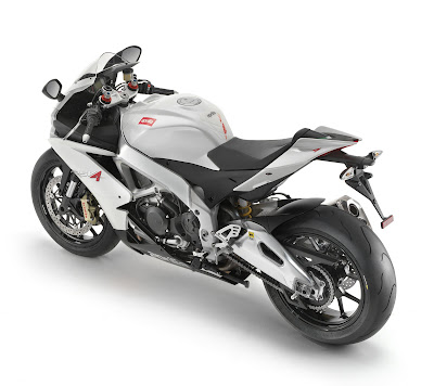 2010 Aprilia RSV 4R Top Side View