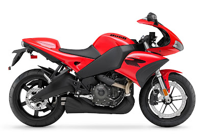 2010 Buell 1125R Red Color