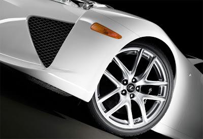 2011 Lexus LFA Wheel