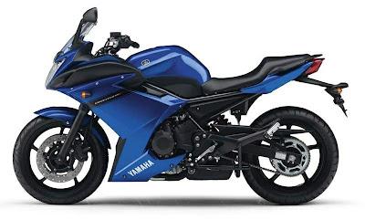 2010 Yamaha XJ6 Diversion F Blue Color