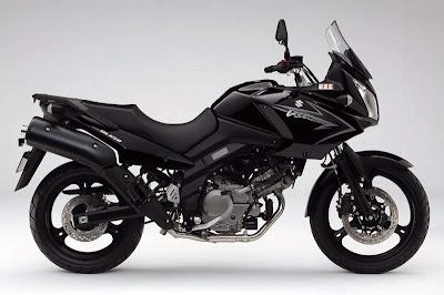 2010 Suzuki DL 650 V-Strom Black Color