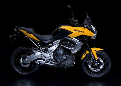 2010 Kawasaki Versys Yellow